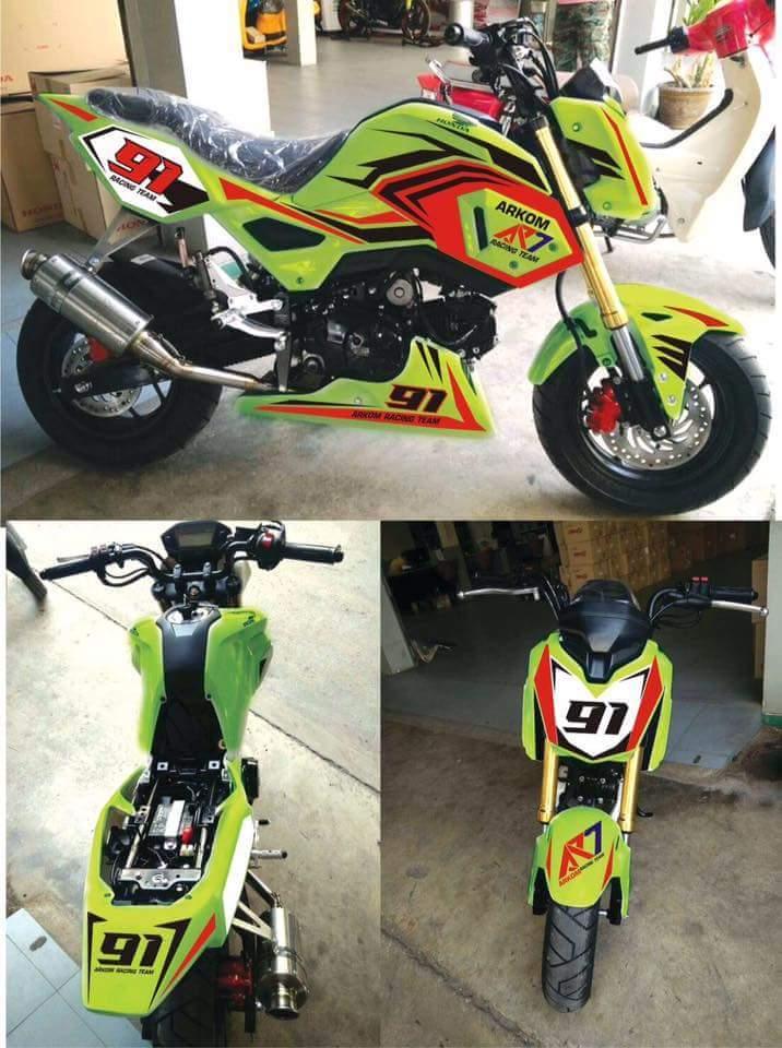 ... 2017 motorcycles custom honda grom grom grom 125 grom exhaust honda