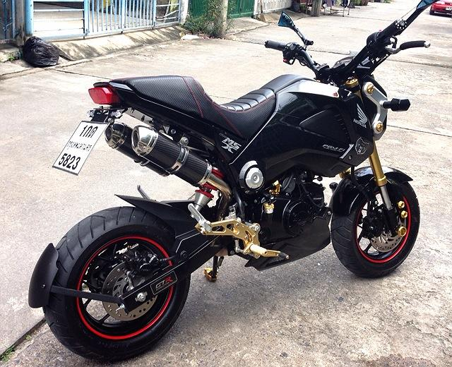 Backup · Customhondagrommsx125dualexhaustmotorbike: Dual Exhaust Bikes At Woreks.co