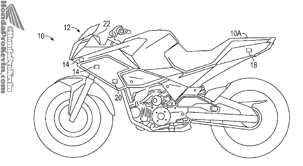 Leaked Motorcycle Electronics Riding Training Technology Patents Live Computer Instructor System Lcis on 2017 Honda Concept Motorcycles