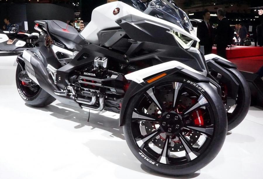 Honda Neo Wing New 2017 Trike 3 Wheel Motorcycle Goldwing Cousin ...